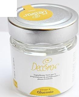 Jarabe de glucosa decorativo, 230g, pasta de azúcar para decoración de tartas.