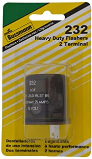 Bussmann (BP/232-RP) Round 20 Amp 12V DC Carded Heavy-