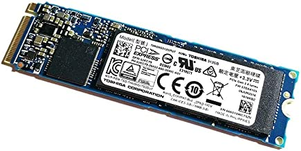 Toshiba XG3 Single Sided 80mm (2280) M.2 PCI Express 3.0 x4 (PCIe Gen3 x4) OEM NVMe Client SSD (512GB)