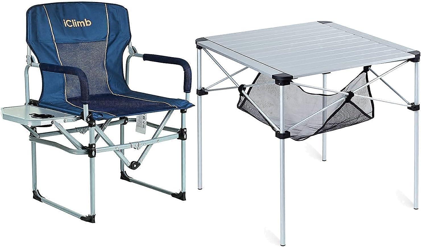 iClimb 1 Ultra-Cheap Deals Fresno Mall Folding Square Table C and Heavy Compact Duty