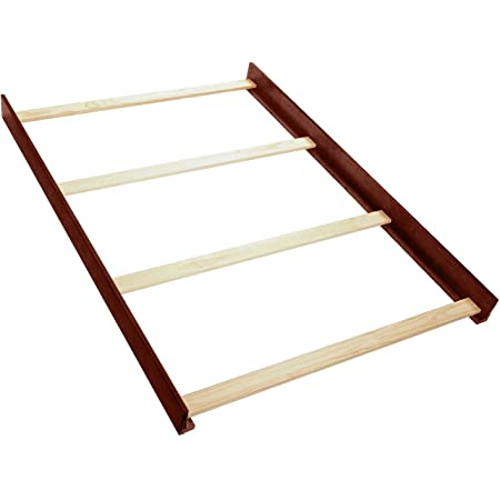 Full Size Conversion Kit Bed Rails for Baby Cache Cribs Cherry