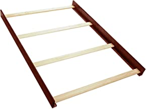 Full Size Conversion Kit Bed Rails for Lajobi Europa Baby Andover, Geneva, Kathy Ireland, Palisades Cribs (Merlot)