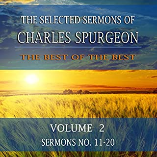 Couverture de The Selected Sermons of Charles Spurgeon, Volume 2