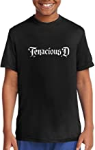 Gfhre64DFFD Personalized Fashion Customization Black Tenacious D Cartoon Teen Round Neck T-Shirt