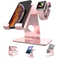 Cell Phone Stand Tablet Stand , ZVEproof iWatch iPhone Apple Watch Charging Station Stand Dock...