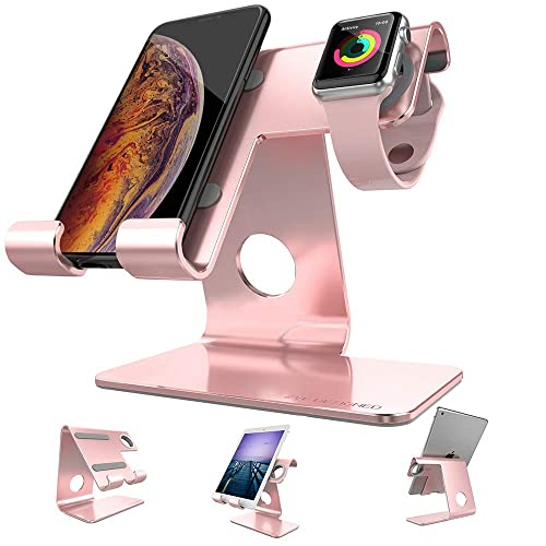 Cell Phone Stand Tablet Stand , ZVEproof iWatch iPhone Apple Watch Charging Station Stand Dock Cradle