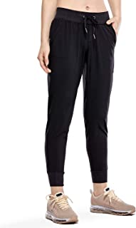 Women's Lightweight Joggers Pants with Pockets Drawstring...
