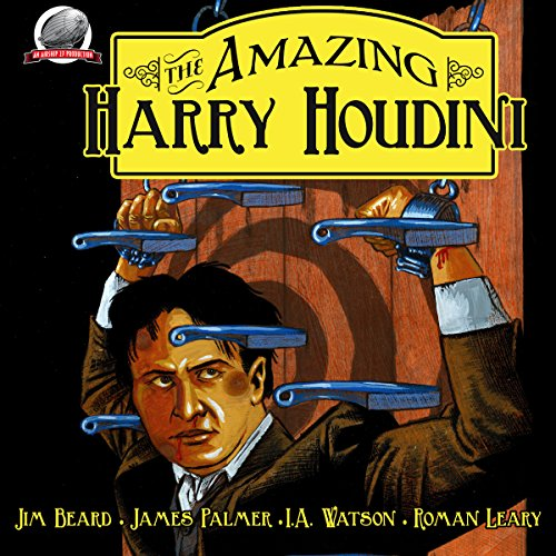 The Amazing Harry Houdini, Volume 1 audiobook cover art