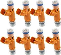 labwork 8pcs Fuel Injectors 2W93-AA for Jaguar Land Rover Range Rover 4.2L 4.4L V8