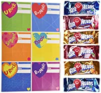 HAPPY VALENTINES DAY AIRHEADS -28 MINI BARS AND CARDS 11.26 OZ [並行輸入品]