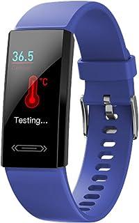 Inteligentny zegarek, V100S, monitor tętna i temperatury, IP68, wielokrotne tryby sportowe, inteligentna bransoletka