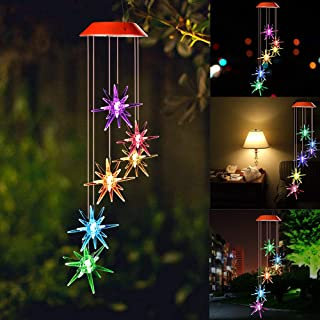 Best solar powered led wind chime Reviews