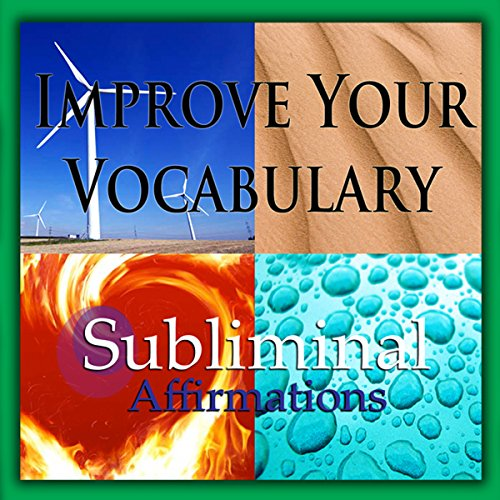 Improve Your Vocabulary Subliminal Affirmations Titelbild
