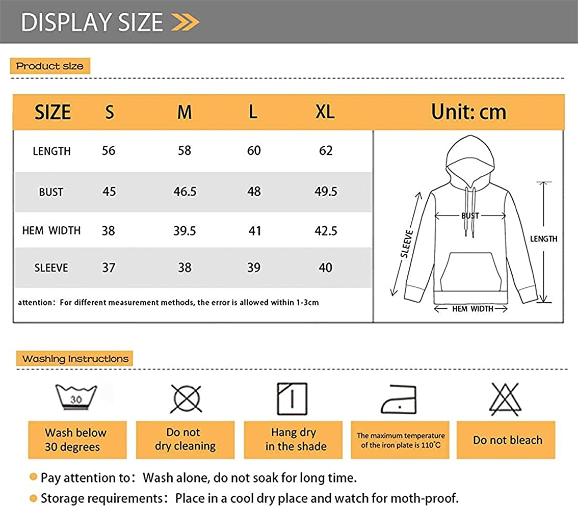 XYZCANDO Pullover Hoodie Long Sleeve Pullover with Pockets Suitable for 6-16 Years Teens, Boys, Girls