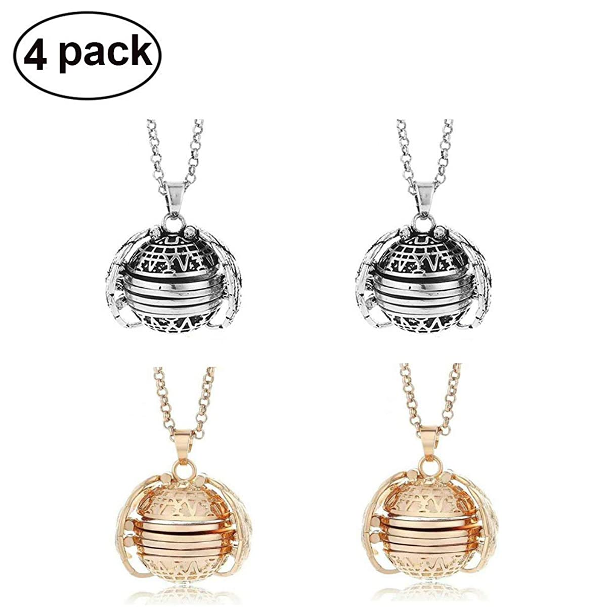 HOMEJU Expanding Photo Locket Necklace Pendant Souvenir Angel Wings Gift Jewelry Decoration,Creative Fashion Clothing Accessory for Mother's Day Valentine Birthday Gift