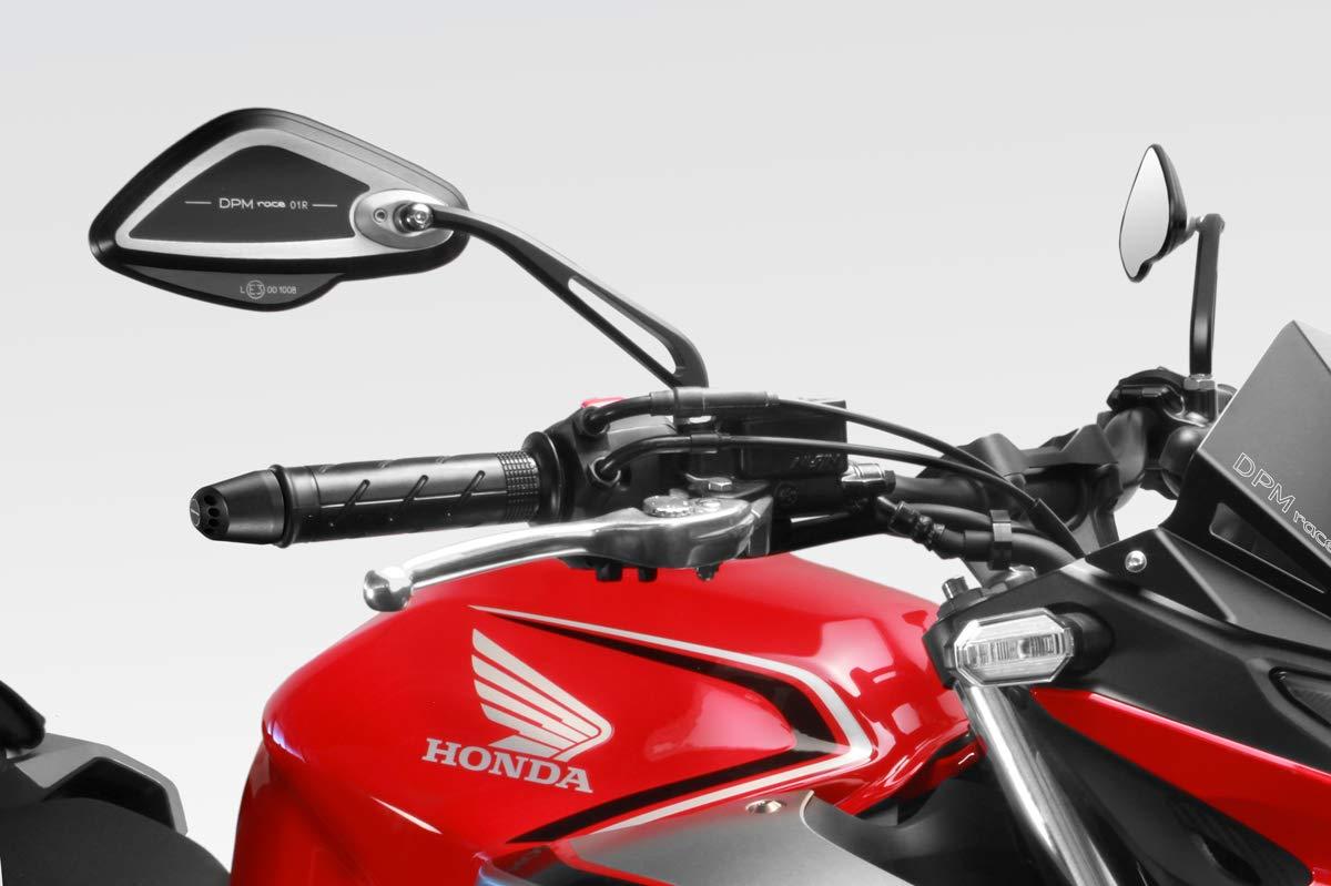 DPM Accessori De Pretto Moto CB500F 2016-18 Kit Targa - Portatarga Inclinazione Regolabile Luce LED e Minuteria Inclusi R-0899 - 100/% Made in Italy