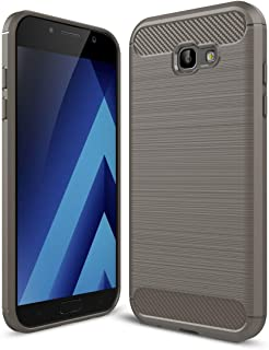 Samsung Galaxy A5 2017 Carbon Fiber Case Grey