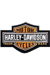 Harley-Davidson Long Bar /& Shield Patch SM 4 1//2/'/' x 2 15//16/'/' EMB312382