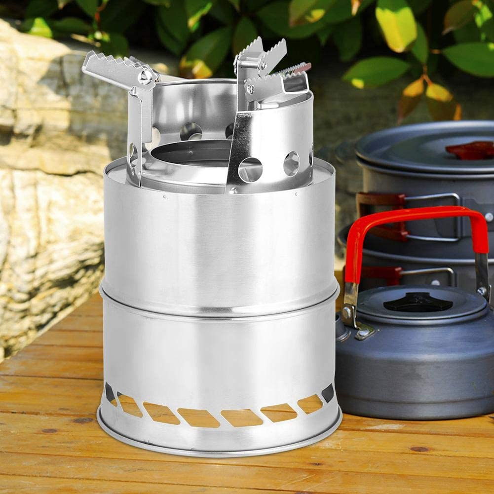 Aqur2020 Camping Stove Stainless Barbecue Ranking TOP5 wholesale cookware Steel