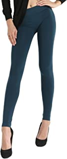 SENSI' Leggings Donna Vita Bassa Microfibra Traspirante Senza Cuciture Seamless Made in Italy