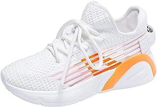 LJFZMD Correr Zapatos,Fitness Zapatos Calzado Zapatillas Deportivas Ligeras Para Mujer De Moda Atlética Que Activan Los Za...