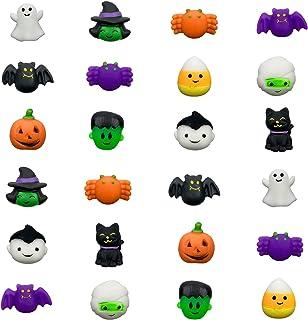 QINGQIU 24 PCS Halloween Mochi Squishy Toys Squishies Halloween Toys for Kids Girls Boys Halloween Party Favors Halloween ...