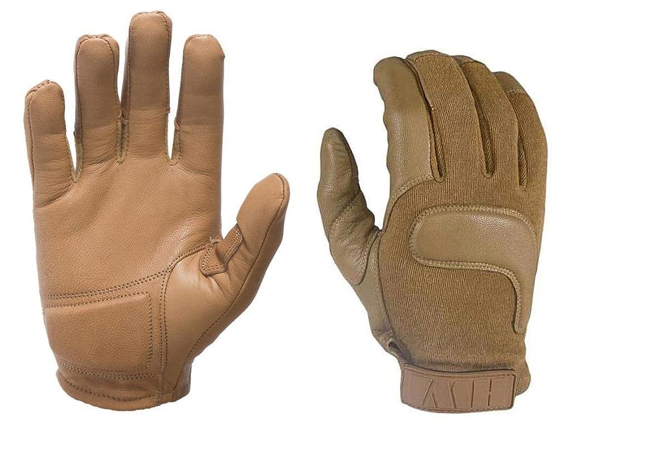 一解放する成り立つHWI cg300?Kevlar Combat手袋、コヨーテ 3L