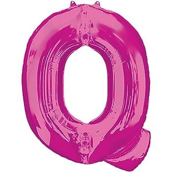 Anagram 35418 Letter I Pink Foil Balloon 34,