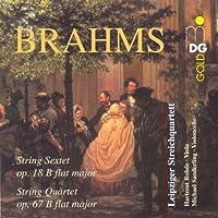 Brahms, String Sextet Op. 18 B Flat Major, String Quartet Op. 67 B Flat Major (2000-06-27)