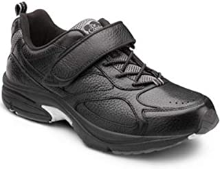 Dr. Comfort Men Winner Leather/Mesh Tennis-Shoes