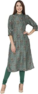 Aalia Women's silk straight Kurta