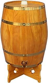 Tonneau à vin en bois de chêne d'époque - Tonneau de Vin, Fabriqué à la main avec du chêne blanc, Conservation du whisky, ...
