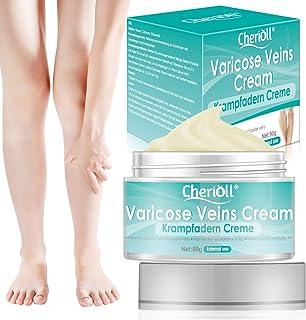 Varicose Veins Cream, Varicose Vein & Soothing Leg Cream, Varicose & Spider Veins Treatment, Strengthen Capillary Health, ...