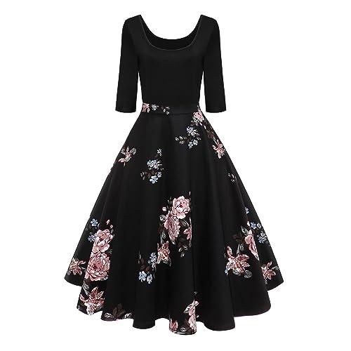 San Francisco akzeptabler Preis attraktive Designs 60er Jahre Kleider Damen: Amazon.de