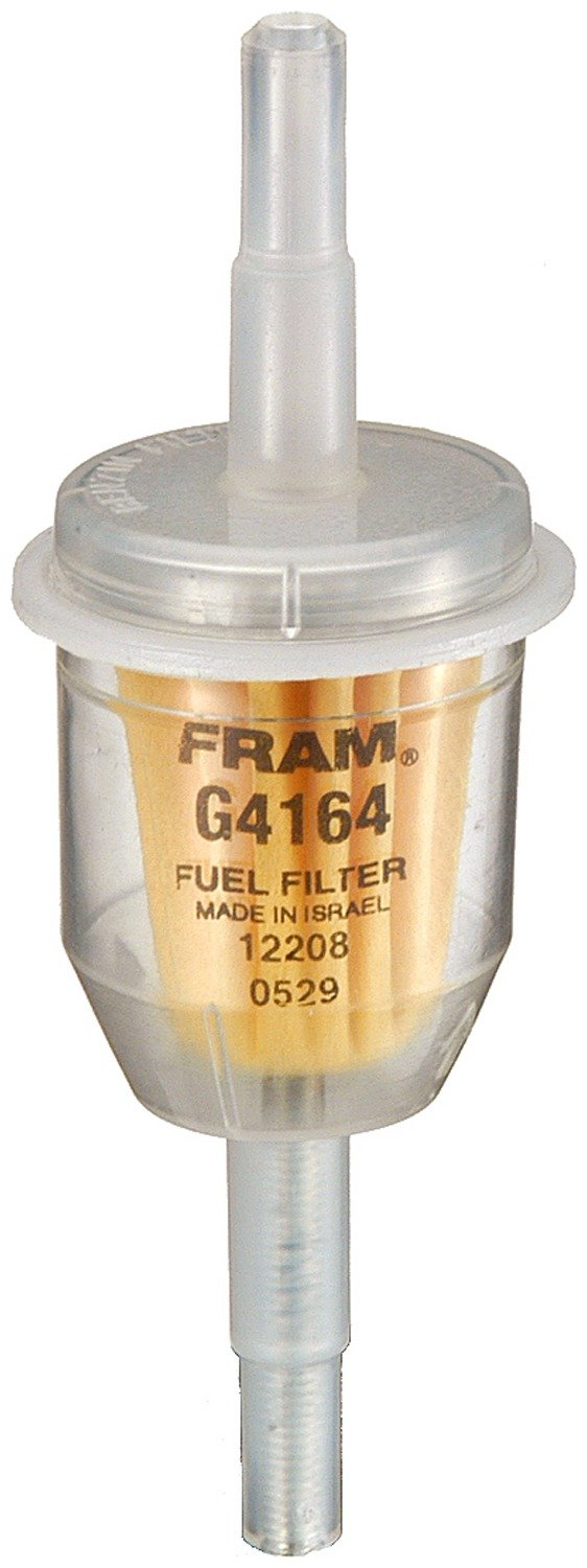 amazon com fram g4164 in line fuel filter automotiveClear Inline Fuel Filter Fram #14