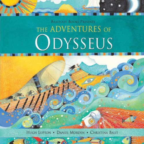 The Aventures of Odysseus audiobook cover art