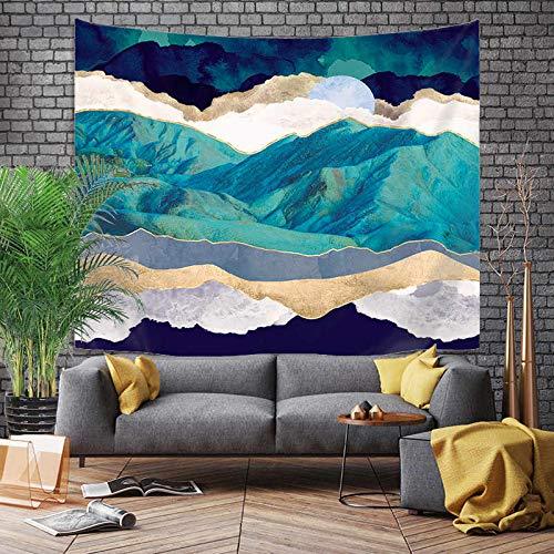 Tapiz grande de estilo japonés, dragón de ballena, pez, dragón y tótem de fénix, colgante de pared, tela de fondo bohemio A18, 130x150cm