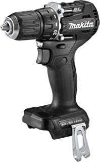 """Makita XFD15ZB 18V LXT Lithium-Ion Sub-Compact Brushless Cordless 1/2"""" Driver-Drill, Tool Only, Black"""