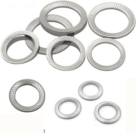 3//4 Zinc Flake Coated 4 Pack Wedge Locking Washer Carbon Steel