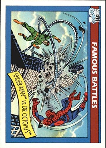 1990 Marvel Universe I #93 Spider-Man vs. Dr. Octopus Trading Card