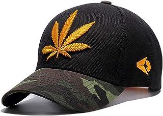 5476070e954 Leaf Embroidery Baseball Cap Men Women s Hip Hop Caps Snapbacks Hats Sunhat  Casquette