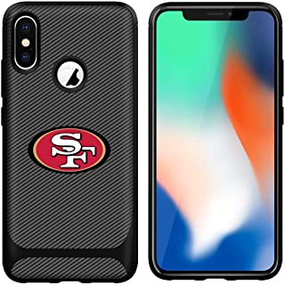 iPhone X Case iPhone Xs Cover Slim Soft Carbon Fiber Pattern Silicone TPU Protective Durable snap on Shell for iPhone X/XS 5.8 inch Black