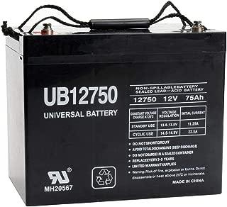 Universal Power Group UB12750 12V 75AH Internal Thread Battery For Drive Medical Maverick Executive