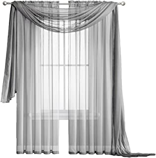 silk sheer drapes