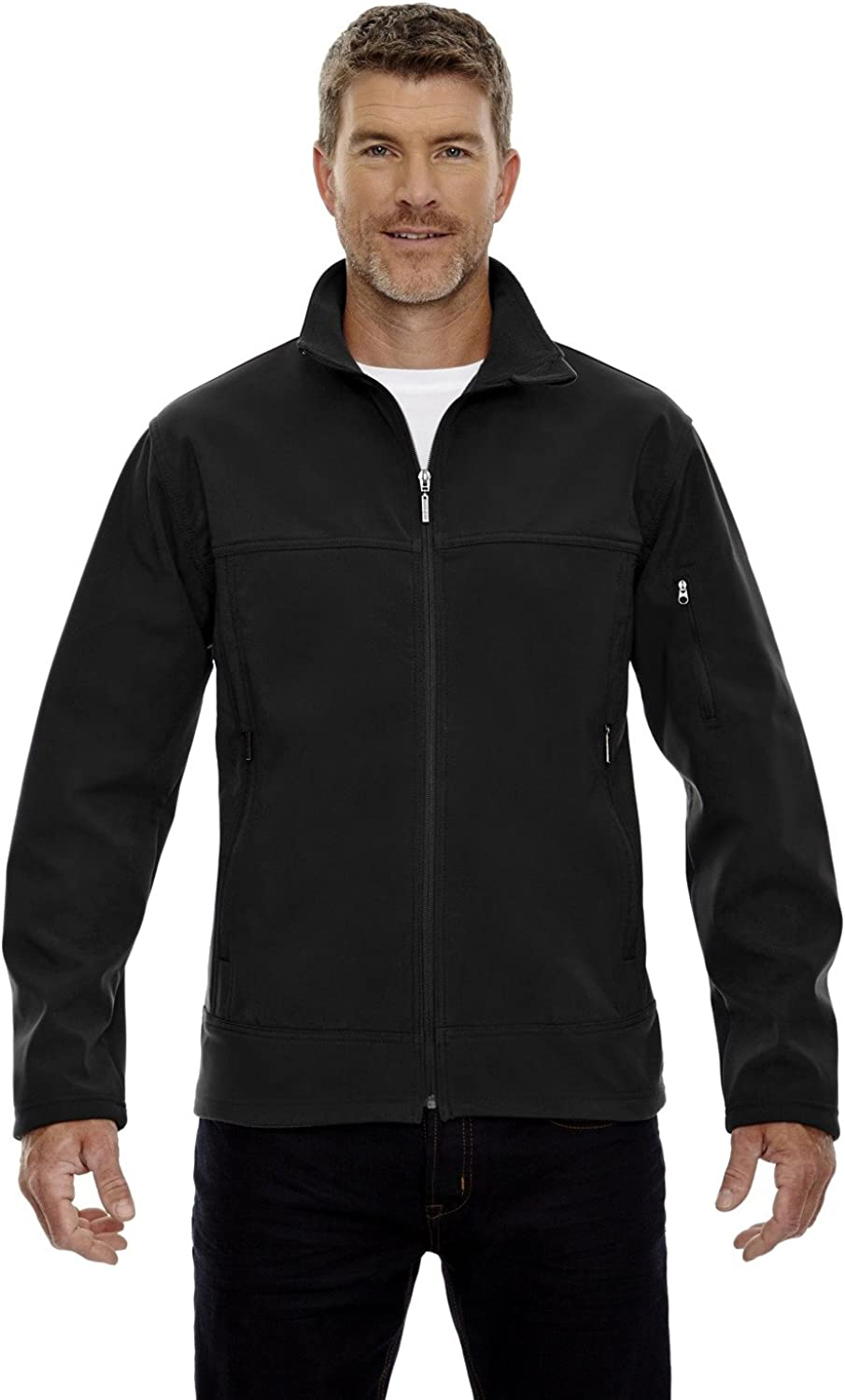 North End Mens Performance Soft Shell Jacket (88099)