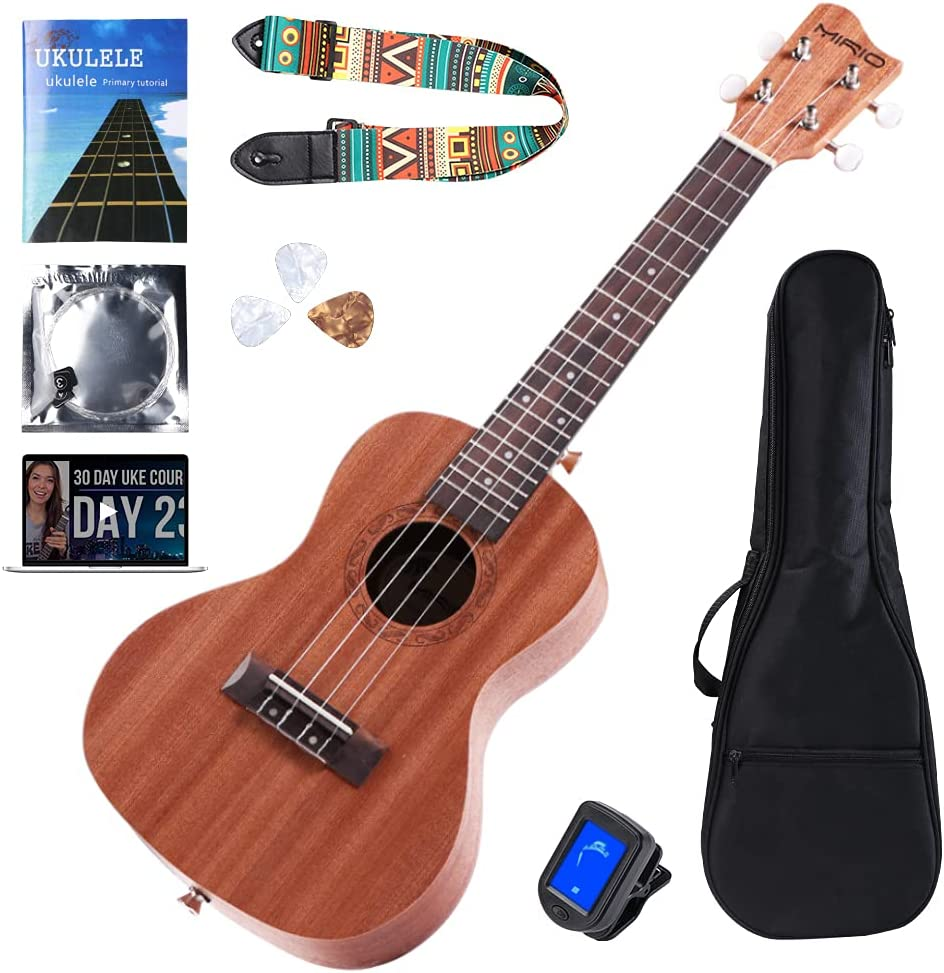 MIRIO Concert Ukulele Cheap mail order specialty store At the price of surprise 24 Inch Play Mahogany Uke For Professional