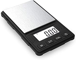 Truweigh - RIOT Digital Mini Scale - 100g x 0.01g - Long Lasting Portable Grams Scale for Kitchen Scale, Food Scale and Postal Scale (Black)