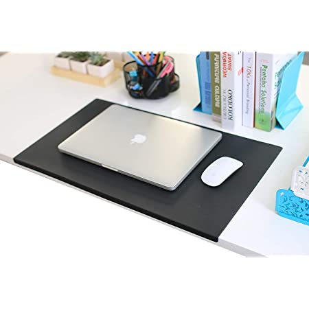 Durable Rectangle Office Desk Pad 20-Inch by 36-Inch Clear Protector 2.5mm