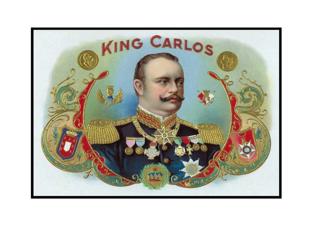 King Carlos marca caja de cigarros de interior etiqueta – King Juan Carlos I de España: Amazon.es: Hogar