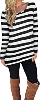 Best black and white striped maternity top Reviews